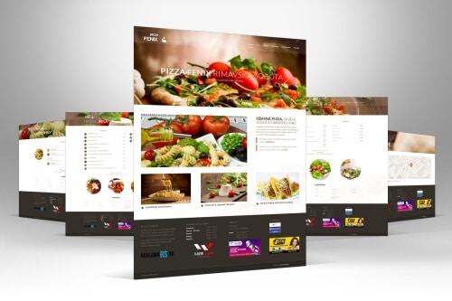 Pizza-fenix.sk - nahlad webstranky