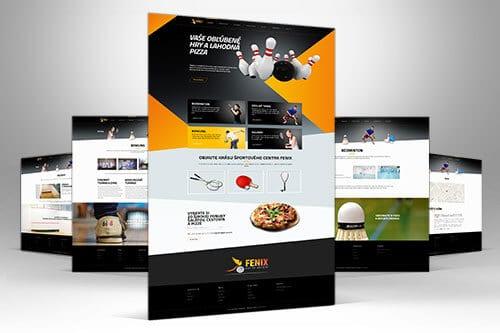 Fenix Sport nahlad webu