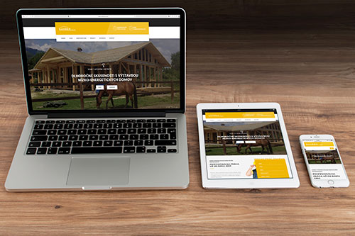 LumberHouse.sk náhľad webu